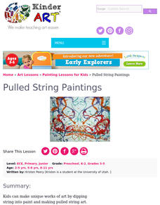 String Art Lesson Plan