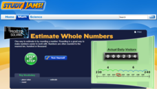 Study Jams! Estimate Whole Numbers Interactive