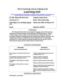 Study of the Rain Forest Lesson Plan