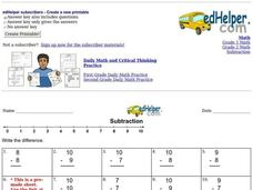 Subtraction Interactive