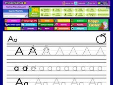 Alphabet Letter A Worksheet