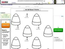 Subtraction Practice 3 Worksheet