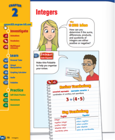 Integers Handouts & Reference