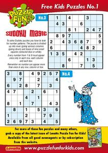 Sudoku Puzzle Worksheet