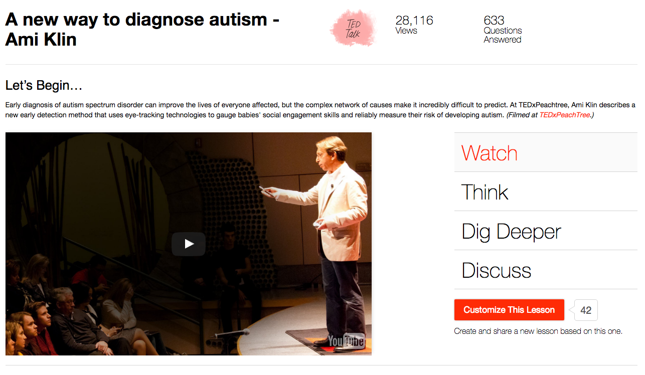 A New Way to Diagnose Autism Video