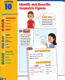 Identify and Describe Geometric Figures Study Guide