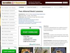 Altered Books Lesson Plan