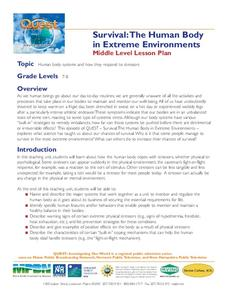 Survival: The Human Body in Extreme Environments Lesson Plan