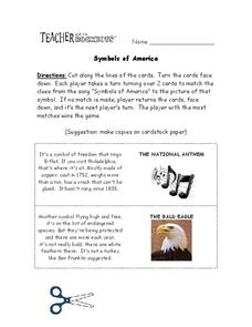 Symbols of America Worksheet