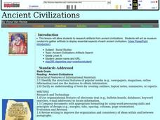 Ancient Civilizations Lesson Plan
