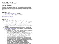 Take the Challenge Lesson Plan
