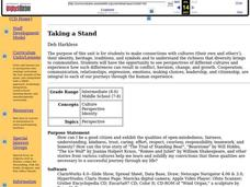 Taking a Stand Lesson Plan