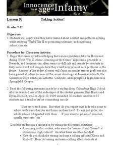Taking Action! Lesson Plan