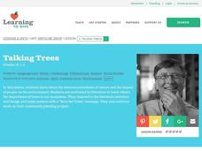 Talking Trees Lesson Plan