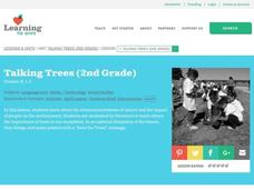 Talking Trees: Earth Day Lesson Plan