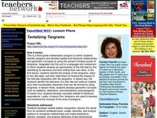 Tantalizing Tangrams Lesson Plan