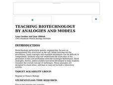 Teaching Biotechnology By Analogies And Models Lesson Plan