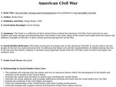 American Civil War Lesson Plan