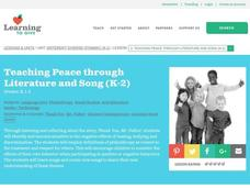 Teaching Peace through Literature and Song Lesson Plan