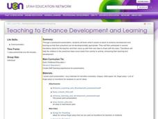 Teaching to Enhance Development and Learning Lesson Plan