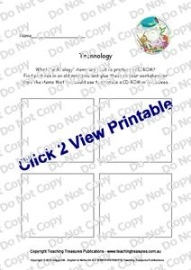 Technology Worksheet