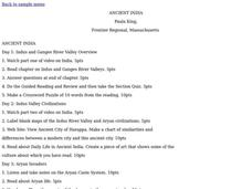 ANCIENT INDIA Lesson Plan