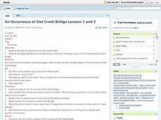 An Occurrence at Owl Creek Bridge Lesson Plan