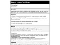 Telling Tales Lesson Plan