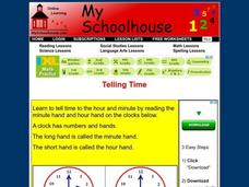 Telling Time Interactive