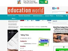Telling Time Lesson Plan