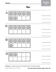 Ten Worksheet