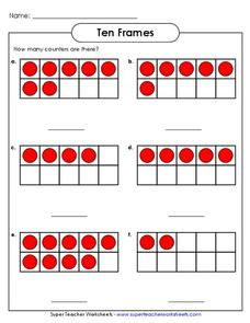 Number Recognition Lesson Plans Worksheets Reviewed By