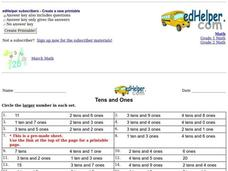 Tens and Ones: Place Value Worksheet