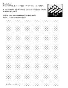 Tessellations Worksheet