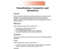 Tessellations: Geometry and Symmetry Lesson Plan