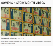 Women of Science Video