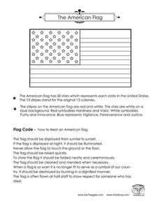 The American Flag Worksheet