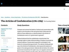 The Articles of Confederation (1781-1789) Interactive