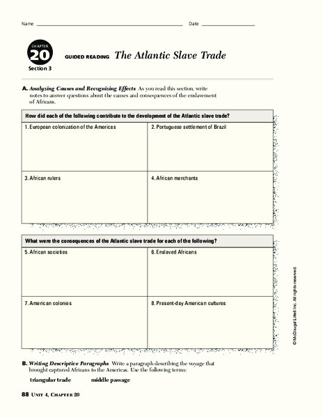 triangular trade route worksheet the best and most comprehensive worksheets. Black Bedroom Furniture Sets. Home Design Ideas