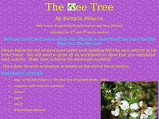 The Bee Tree Lesson Plan