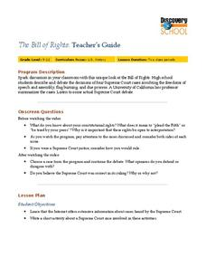 The Bill of Rights Lesson Plan