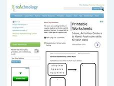 Alphabetical Order Practice Worksheet