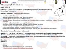 Analyzing Political Cartoons Lesson Plan