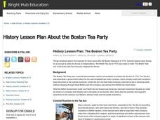 The Boston Tea Party Lesson Plan