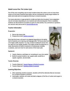 The Carbon Cycle Lesson Plan