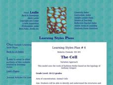 The Cell Lesson Plan