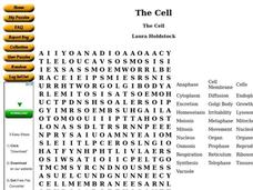 The Cell Worksheet