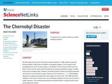THE CHERNOBYL DISASTER Lesson Plan