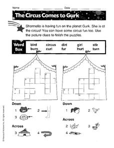 The Circus Comes to Gurk Worksheet