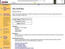 The Civil War Lesson Plan